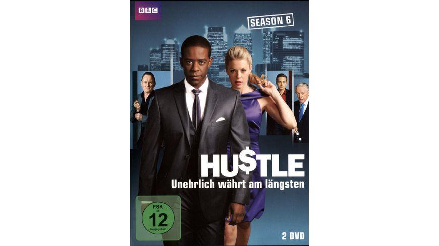 Hustle Unehrlich waehrt am laengsten Staffel 6 2 DVDs