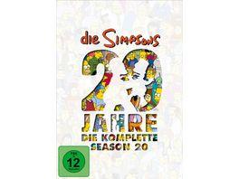 Die Simpsons Season 20 4 DVDs