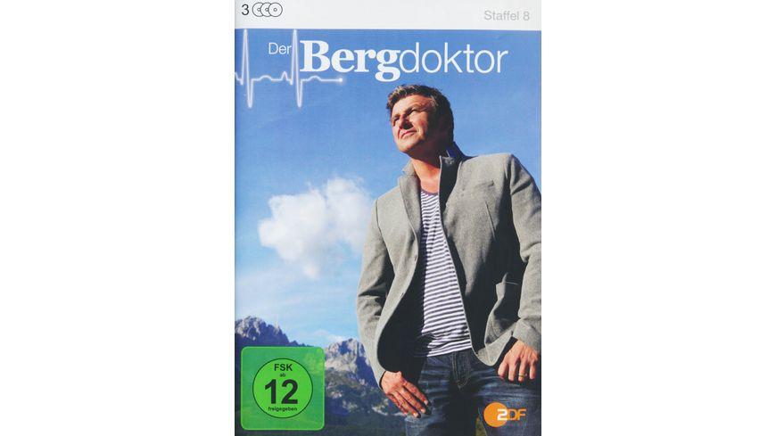 Der Bergdoktor Staffel 8 3 DVDs