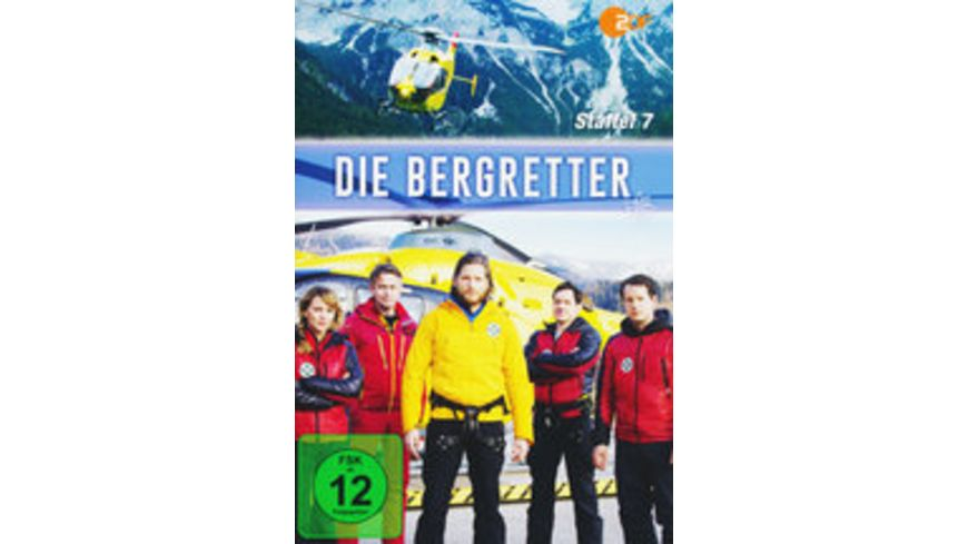 Die Bergretter Staffel 7 2 DVDs