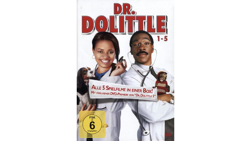 Dr Dolittle Boxset 5 DVDs