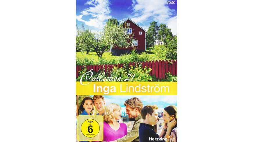 Inga Lindstroem Collection 21 3 DVDs