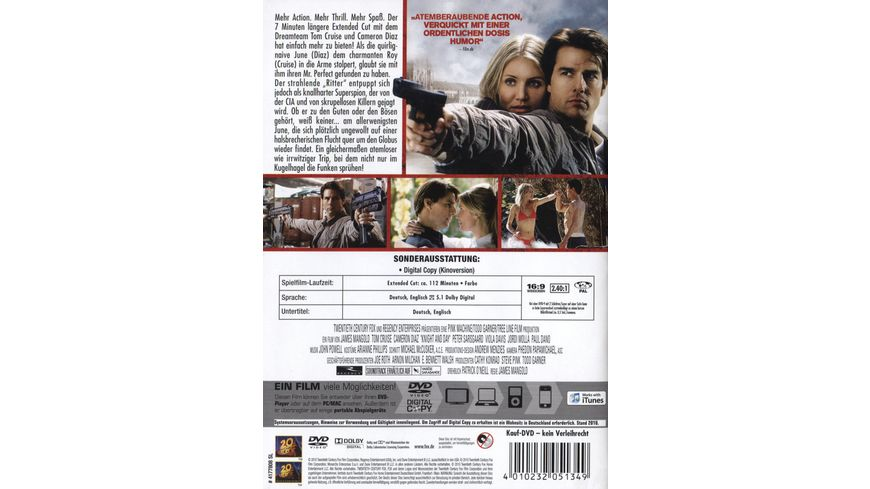 Knight and Day Extended Cut