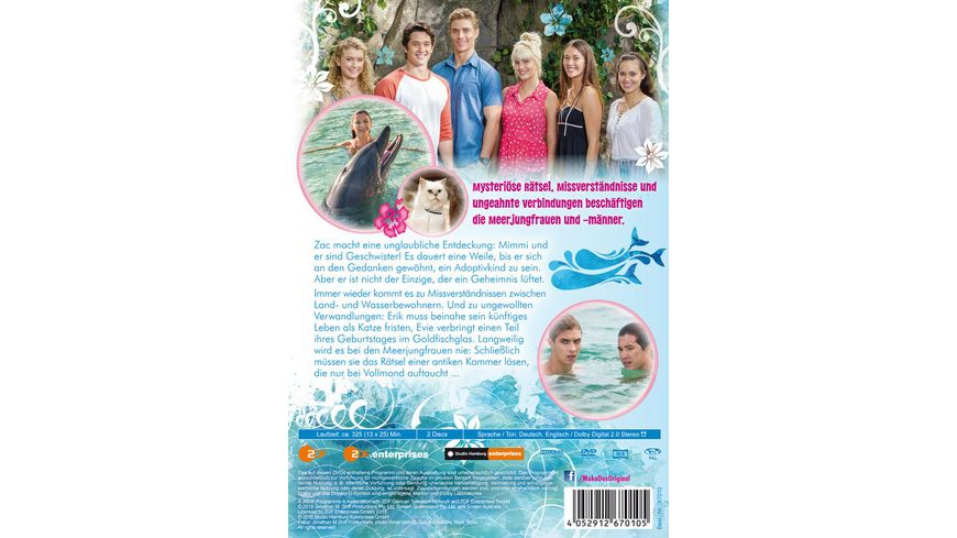Mako Einfach Meerjungfrau St 2 2 2 DVDs