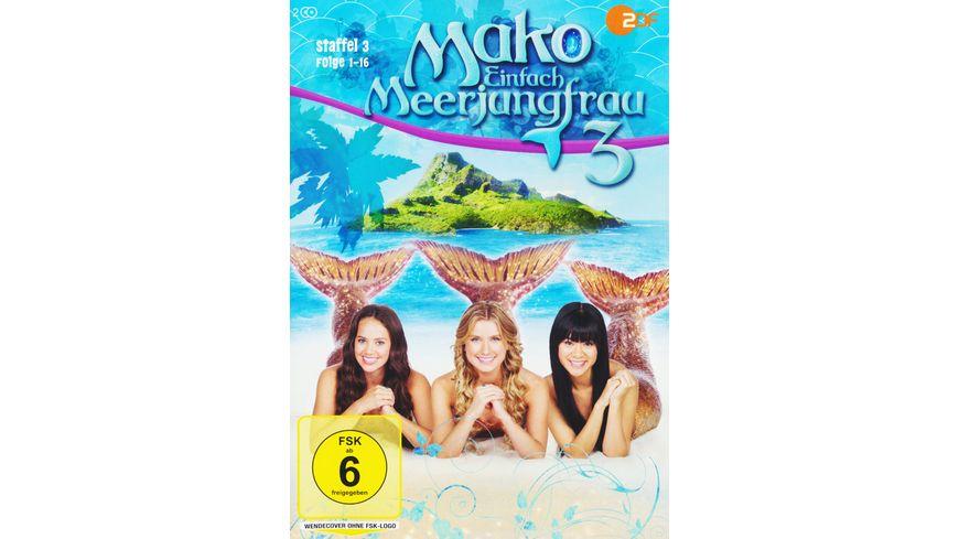Mako Einfach Meerjungfrau Staffel 3 Folge 01 16 2 DVDs