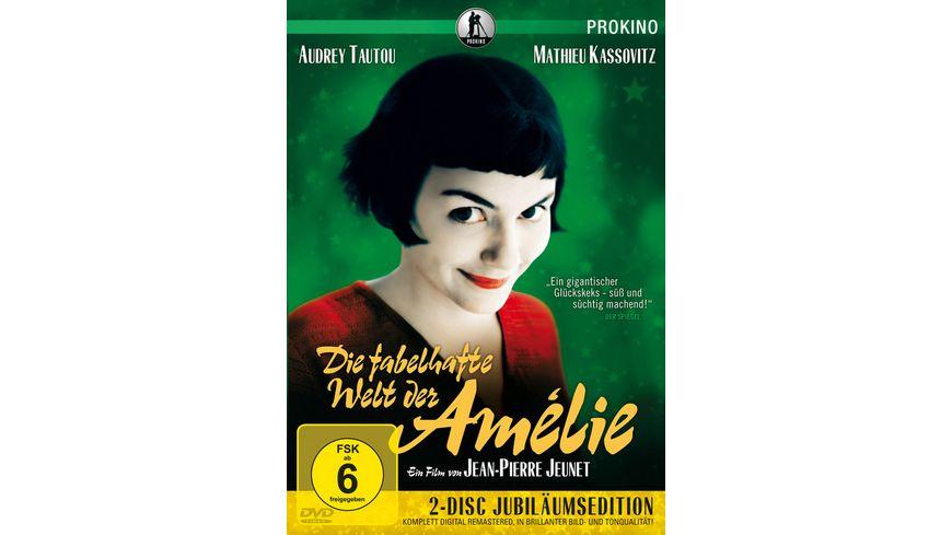Die fabelhafte Welt der Amelie Jubilaeumsedition 2 DVDs