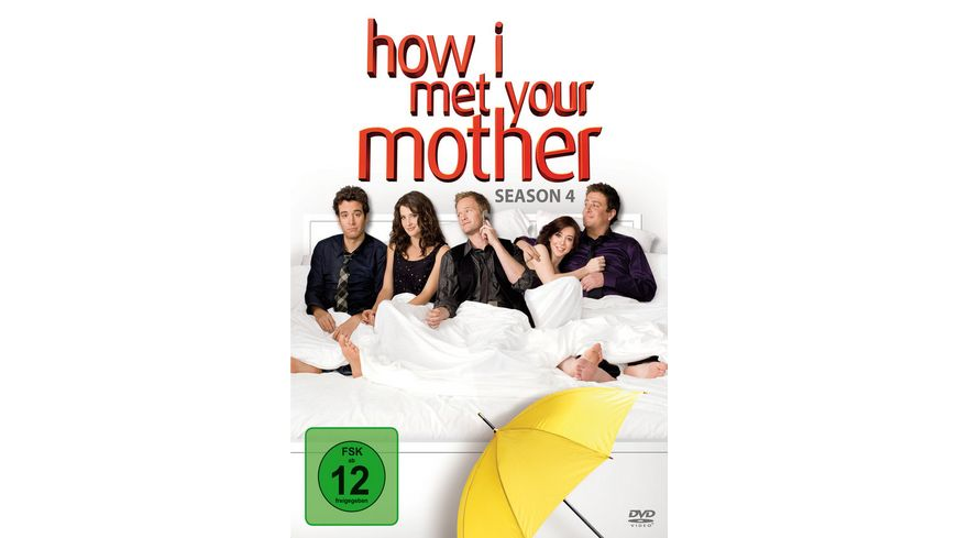How I met your mother Season 4 3 DVDs