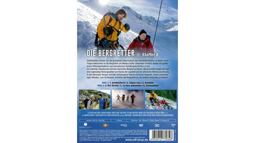 Die Bergretter Staffel 8 2 DVDs