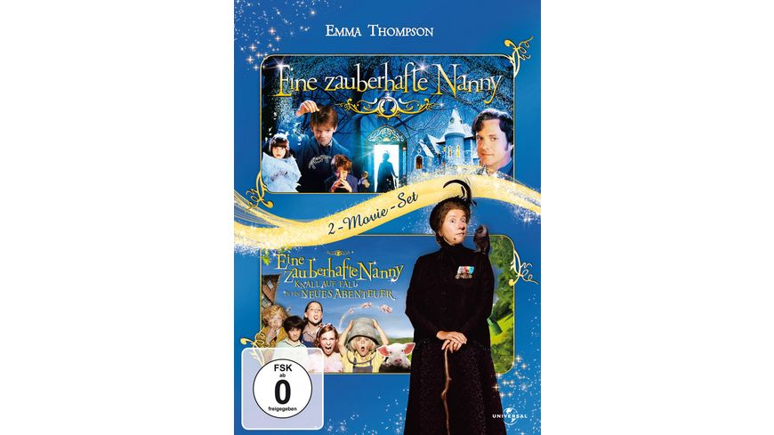 Eine zauberhafte Nanny 1 2 2 DVDs