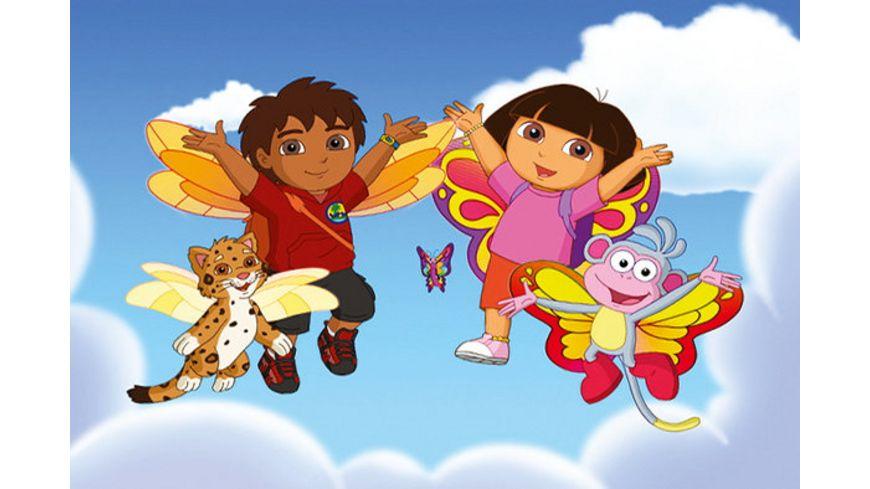 Doras zauberhafter Schmetterlingsball