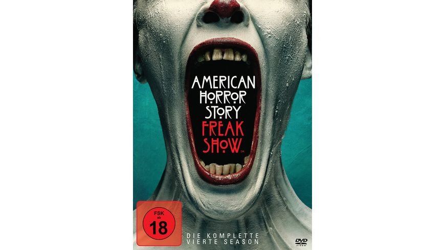 American Horror Story Season 4 4 DVDs