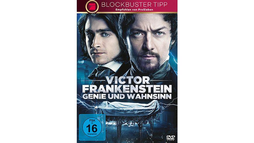Victor Frankenstein Genie und Wahnsinn