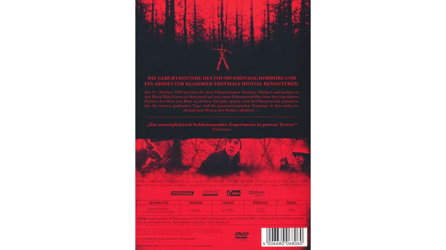 Blair Witch Project Digital Remastered
