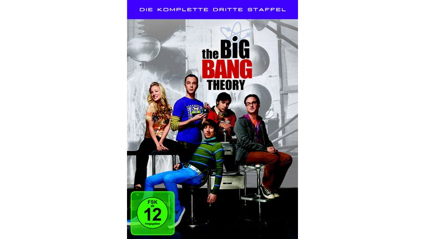 The Big Bang Theory Staffel 3 3 DVDs