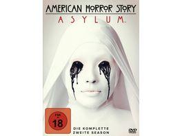 American Horror Story Season 2 Asylum 4 DVDs