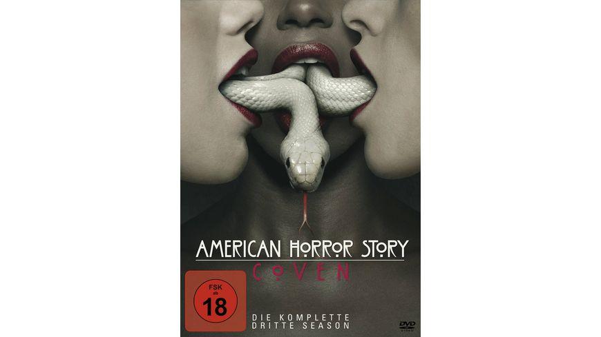 American Horror Story Season 3 4 DVDs