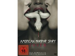 American Horror Story Season 3 4 DVDs