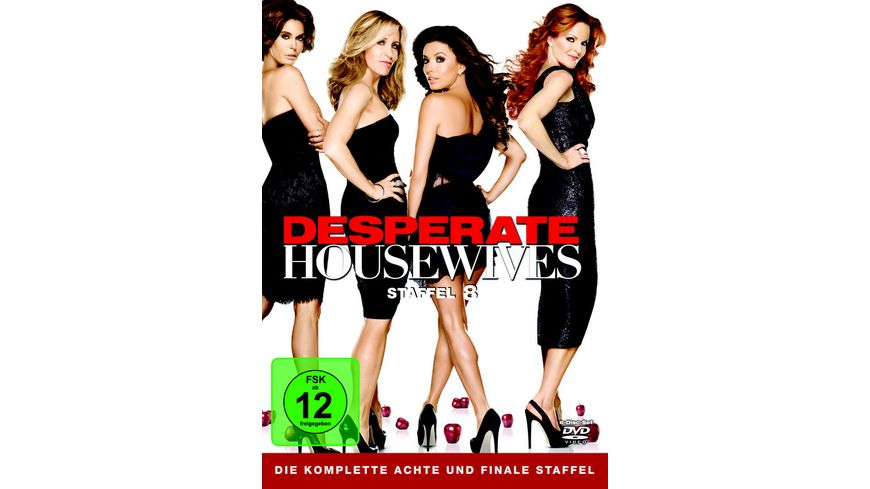 Desperate Housewives Staffel 8 6 DVDs