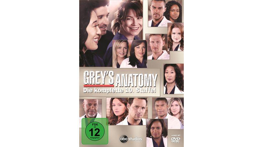 Grey s Anatomy Staffel 10 6 DVDs