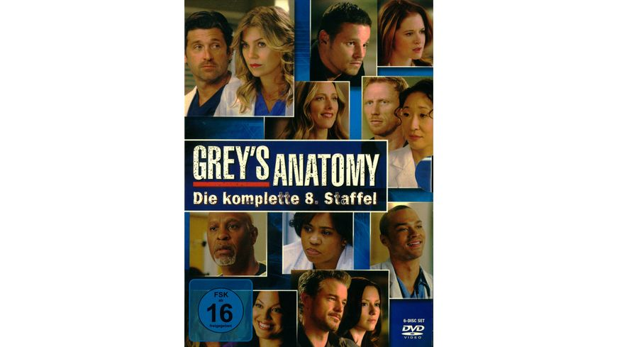 Grey s Anatomy Staffel 8 6 DVDs
