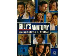 Grey s Anatomy Staffel 8 6 DVDs