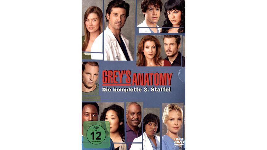 Grey\'s Anatomy - Staffel 3 [7 DVDs] online bestellen | MÜLLER