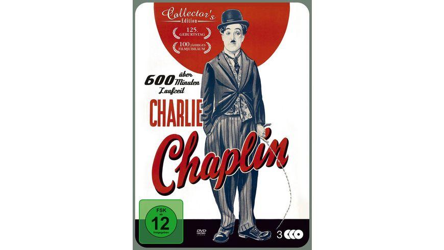 Charlie Chaplin CE MP 3 DVDs