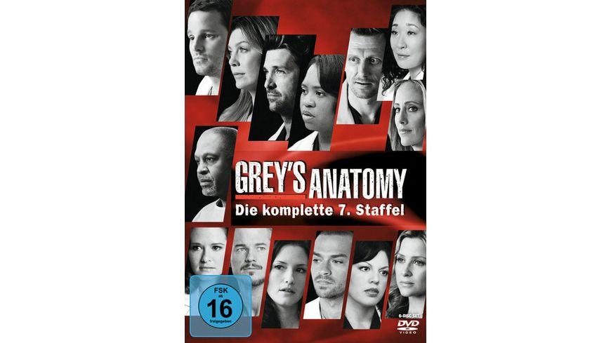 Grey\'s Anatomy - Staffel 7 [6 DVDs] online bestellen | MÜLLER