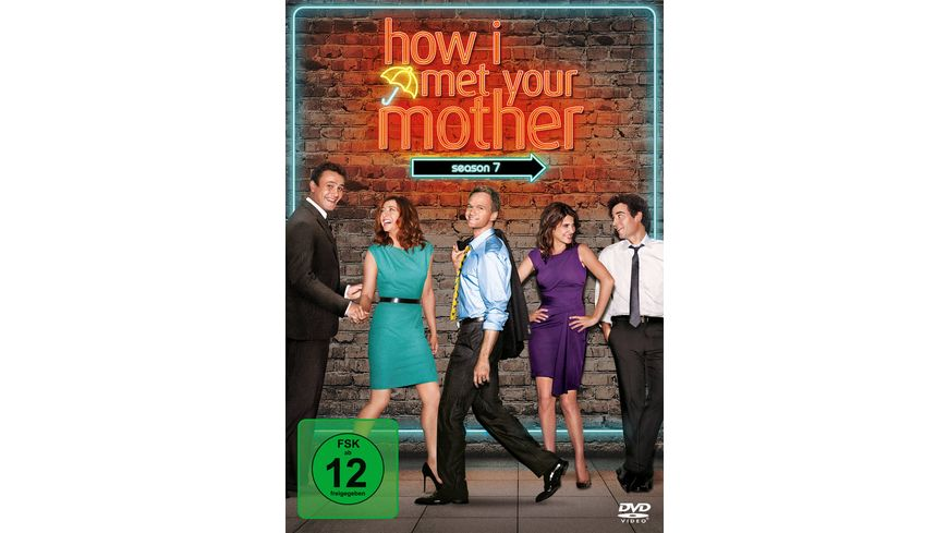 How I met your mother Season 7 3 DVDs