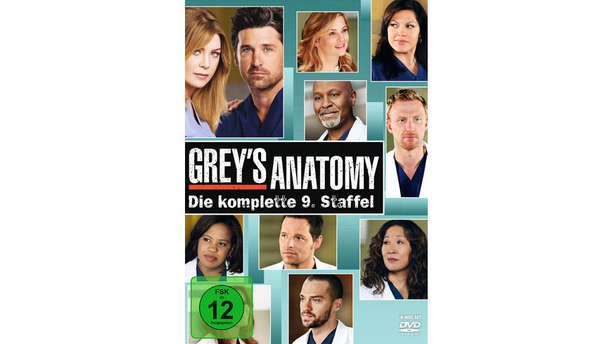 Grey s Anatomy Staffel 9 6 DVDs