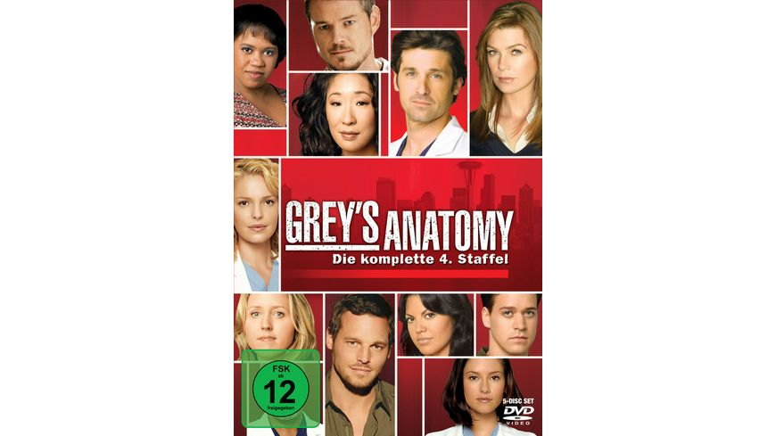 Grey s Anatomy Staffel 4 5 DVDs
