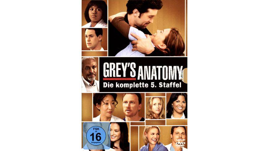 Grey s Anatomy Staffel 5 7 DVDs