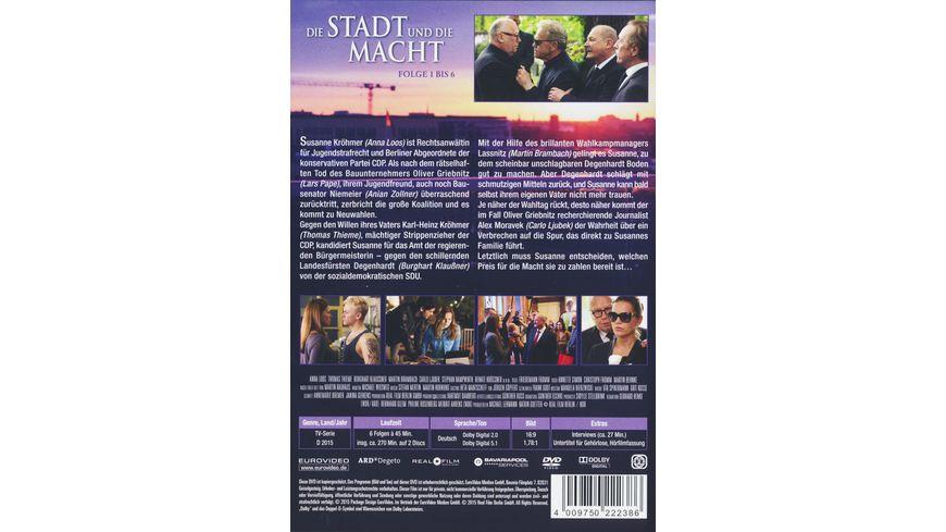 Die Stadt und die Macht 2 DVDs