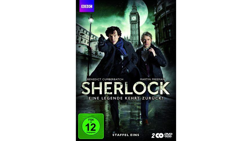 Sherlock Staffel 1 2 DVDs