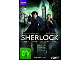 Sherlock Staffel 1 2 DVDs