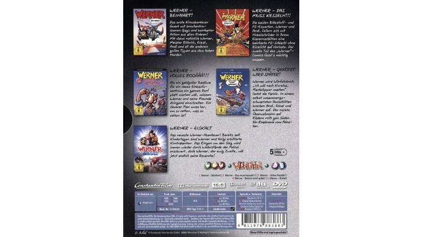 Werner Sammelbox 5 DVDs