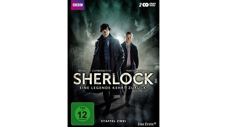 Sherlock Staffel 2 2 DVDs