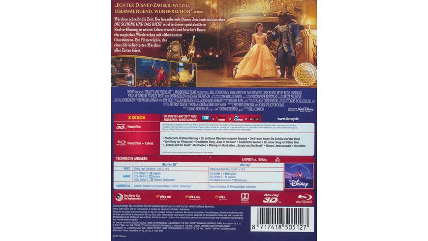 Die Schoene und das Biest Blu ray 2D