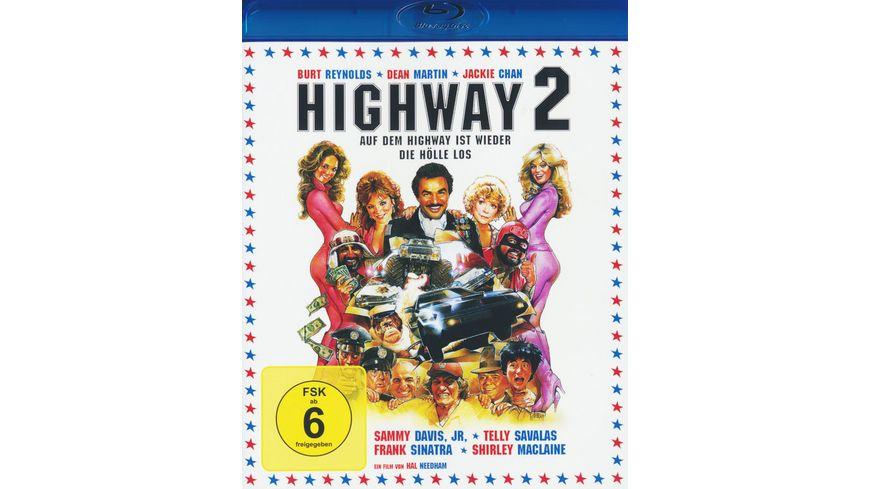 Highway 2 Auf dem Highway ist wieder die Hoelle los