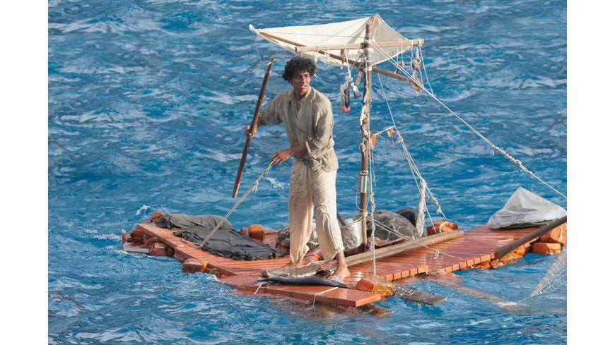 Life of Pi Schiffbruch mit Tiger