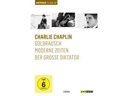 Charlie Chaplin Arthaus Close Up 3 DVDs