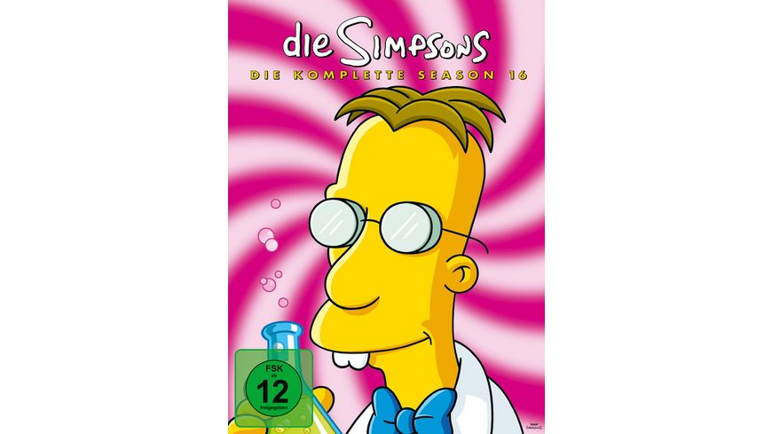 Die Simpsons Season 16 4 DVDs