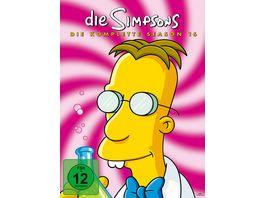 Die Simpsons Season 16 4 DVDs