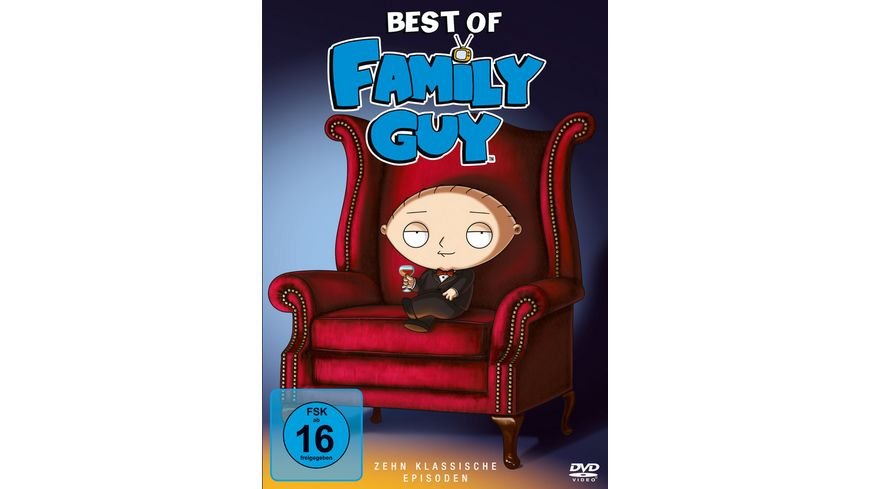 Family Guy Best Of 3 DVDs