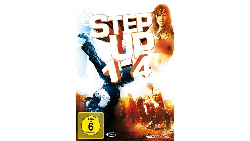 Step Up Teil 1 4 4 DVDs