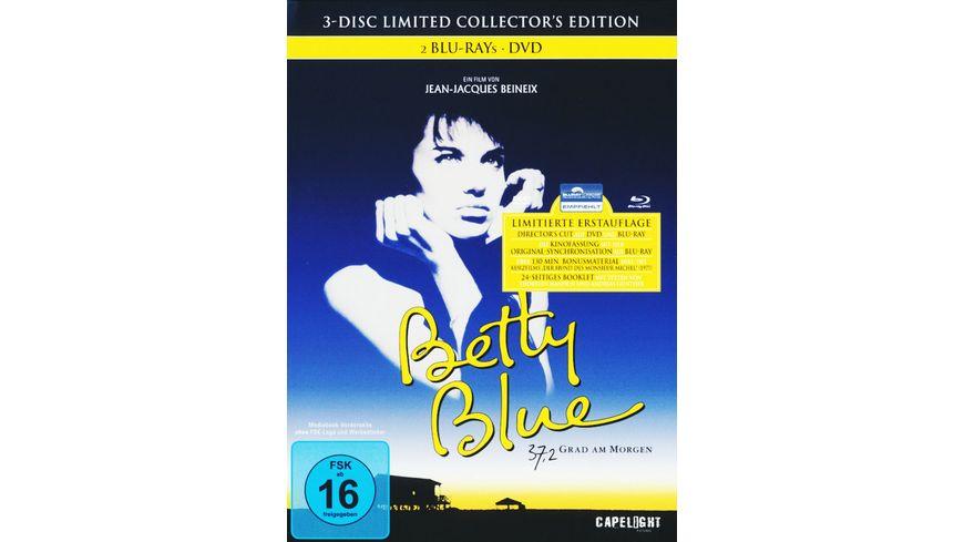 Betty Blue 37 2 Grad am Morgen DC LCE 2 BRs DVD Mediabook