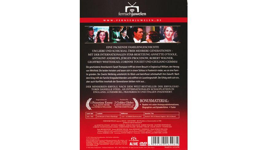 Juwelen des Schicksals Die komplette Miniserie 2 DVDs