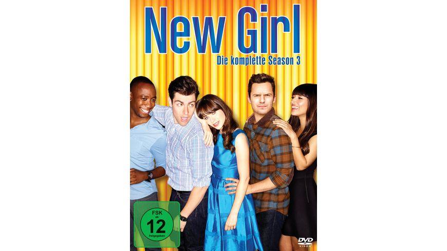 New Girl Season 3 3 DVDs