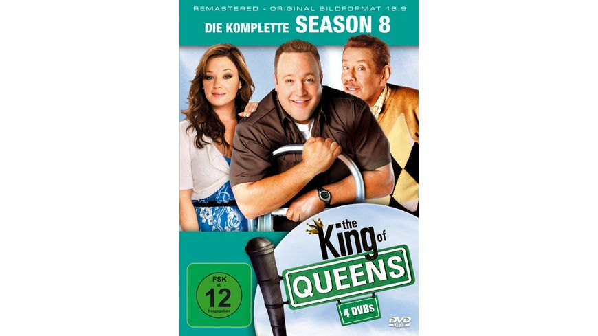 The King of Queens Season 8 Remastered 4 DVDs