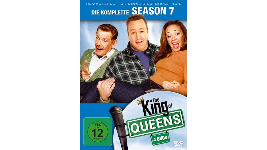 The King of Queens Season 7 Remastered 4 DVDs